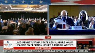 President Trump Speaks On 2020 Elections... Pennsylvania State Legislature.