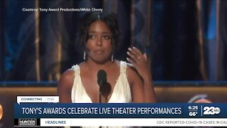 Tony Awards celebrates return of live theater