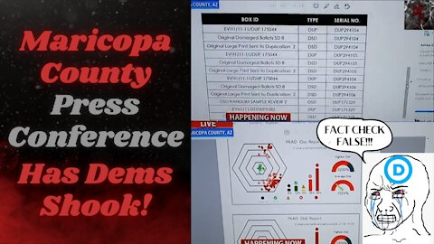 Democrats Staging Insurrection of their Own Over Voting Rights Bill   Maricopa County Has Them Shook