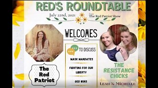 The RED Patriot Show WELCOMES THE RESISTANCE CHICKS TO THE ROUNDTABLE