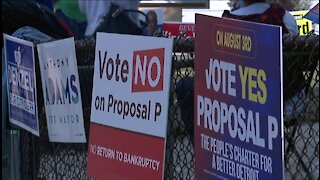 Voters head to the polls to decide fate of Detroit's Proposal P on Tuesday