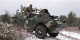 58th Separate Motorifle Brigade conducts Attack and Counter Attack Exercises