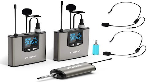 Trevor Dual Wireless Lavalier Microphone Review