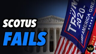 Supreme Court says Texas lawsuit has NO STANDING...what next?