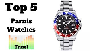 🏆 Top 5 Most Popular Parnis Watches on AliExpress