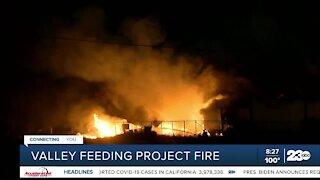 Valley Feeding Project fire