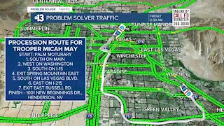 Funeral procession to impact Friday traffic