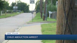 Man arrested after Tulsa child abduction