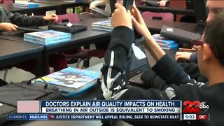 Health experts explain air quality impacts on your health