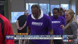 Gerofit Program giving vets their lives back
