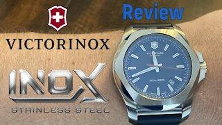 Victorinox INOX 200m Dive Watch - Review & Unboxing (241688 / Ronda 715)