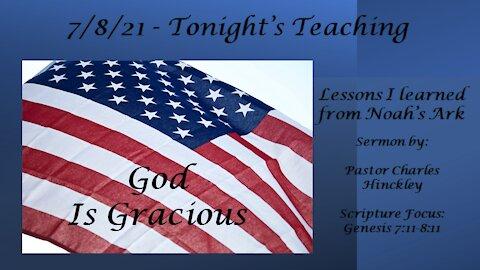 7/8/21 - God is Gracious