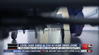 COVID cases surge as stay-at-home order looms