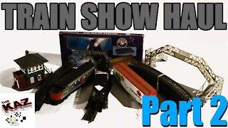 Model Train Show Haul Part 2