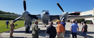 de Havilland Mosquito Flying at Military Aviation Museum
