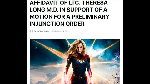 AFFIDAVIT OF LTC. THERESA LONG M.D. IN SUPPORT OF A MOTION FOR A PRELIMINARY INJUNCTION ORDER