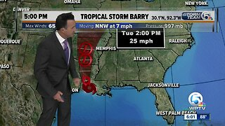 Tropical Storm Barry update: 7/13/19 - 5pm