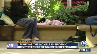 Homeless Coalition of Palm Beach County working to remedy homeless problem