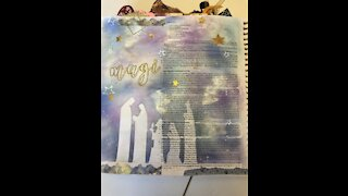 Let's Bible Journal Daniel 2 (from Lovely Lavender Wishes)