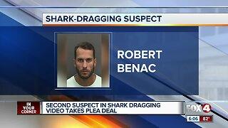 Second man sentenced in shark dragging case