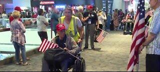 Veterans welcomed home