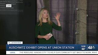 Auschwitz exhibit opens Monday