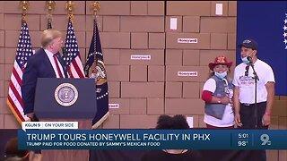 President Trump to visit Arizona, tour Honeywell facility