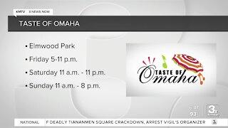 Taste of Omaha underway