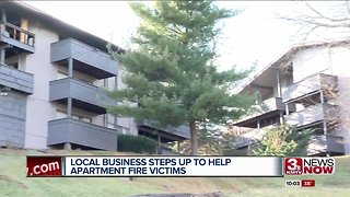 Local business helping Fontenelle Hills Apartment fire victims