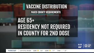 Pasco County to begin COVID-19 vaccinations for seniors