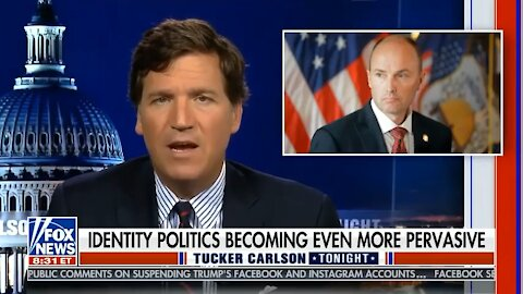Tucker Carlson calls out Spencer Cox for Racism