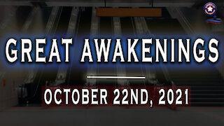 Great Awakenings - October 22nd 2021