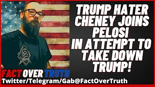 Trump Hater Liz Cheney Joins Pelosi In Attempt To Take Down Trump!