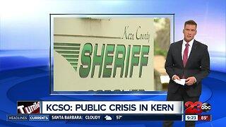 KCSO: Public Crisis in Kern County