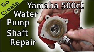 Water Pump Shaft Repair : Yamaha 500cc Racing Engine