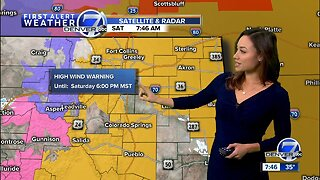 Strong Winds Saturday