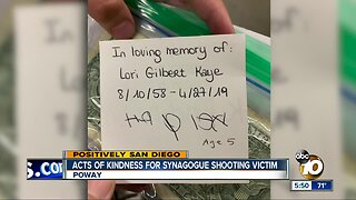 Random acts of kindness for Poway synagogue shooting victim