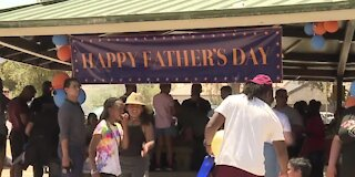 Fathers celebrate in Henderson park