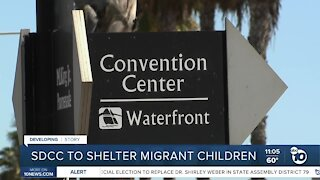 San Diego Convention Center to shelter migrant children