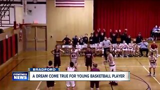 Dream comes true for young Basketball player