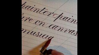 How do Calligraphers correct mistakes???