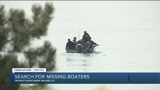 Grosse Ile police search for missing boaters