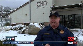 CHP working to keep roads safe
