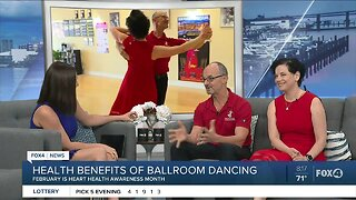 Ballroom dancing and heart health