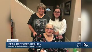 Mother in nursing home contracts COVID-19