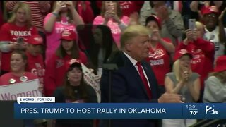 Local reaction to President Trump's scheduled Tulsa visit