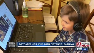 Daycares Help Kids With Distance Learning