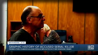 Graphic history of accused serial killer