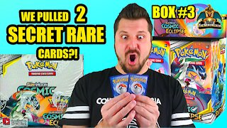 Cosmic Eclipse Booster Case (Box 3) | Charizard Hunting | Pokemon Opening