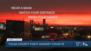 Tulsa County sees recent decline in COVID-19 cases
